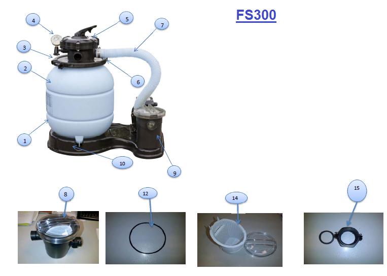 DESPIECE FS300