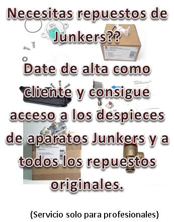 Necesitas repuestos Junkers?